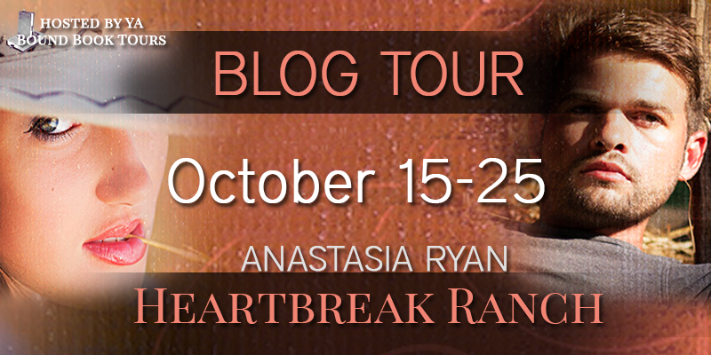Heartbreak Ranch blog tour banner