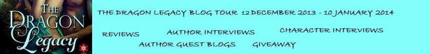 The Dragon Legacy  Blog  Tour Banner