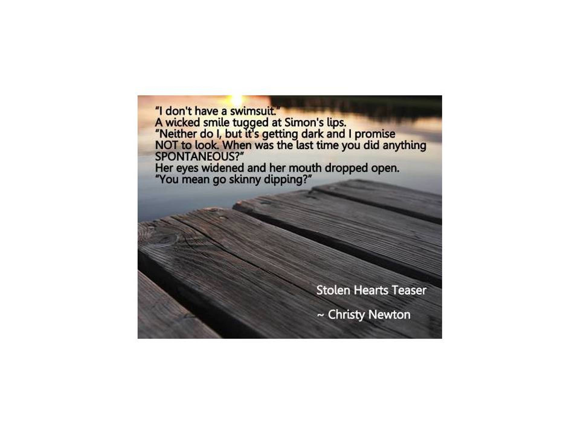 Stolen Hearts Teaser Christy Newton