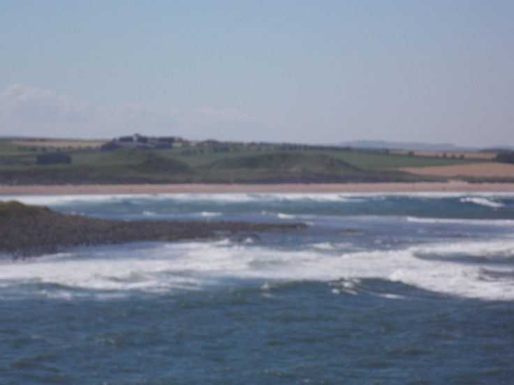 Dunstan Steads Beach from Dunstanburgh Castle