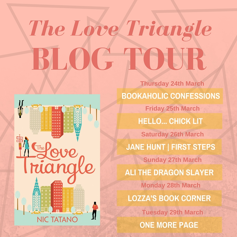 The Love Triangle Blog Tour Schedule