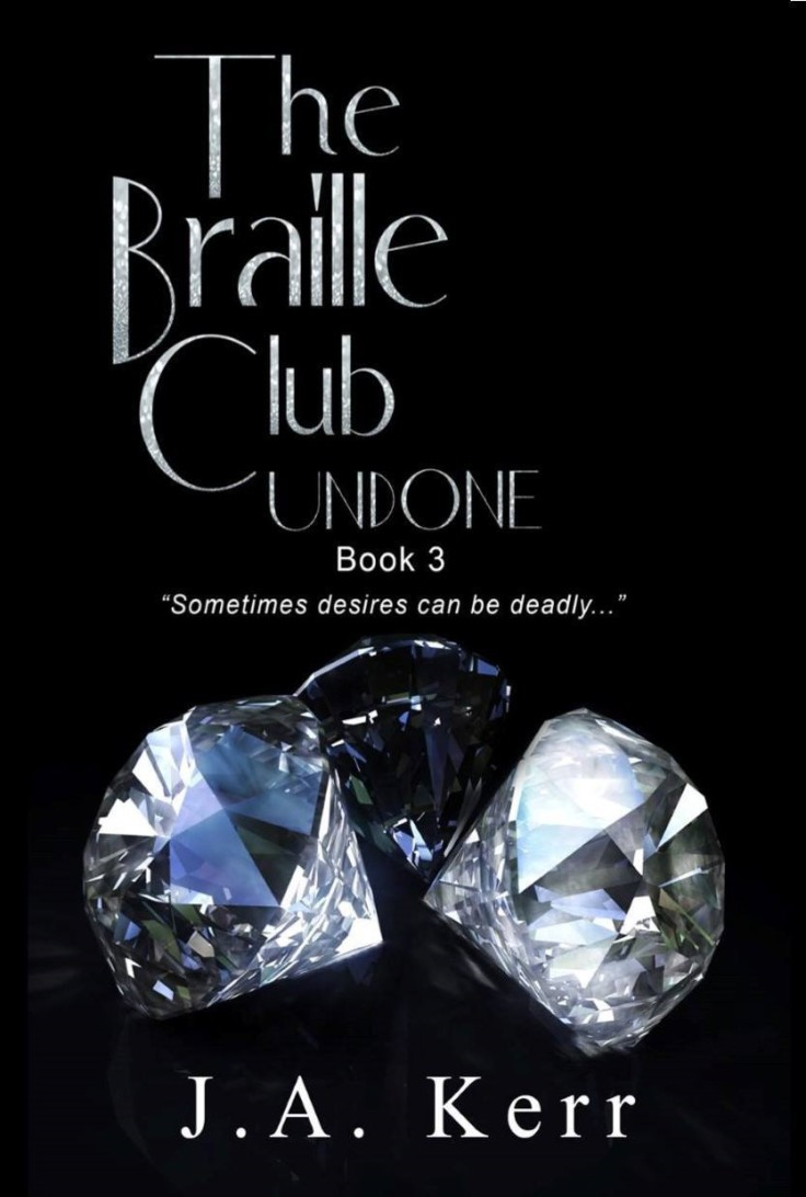 Book cover Braille Club Undone
