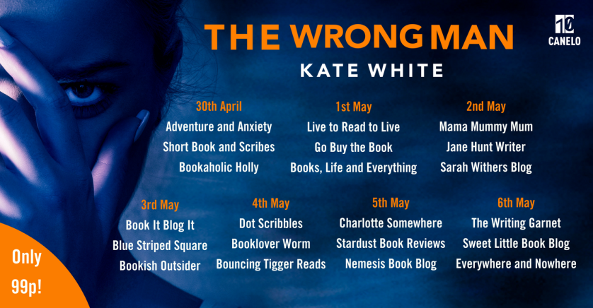 The Wrong Man Blog Tour Banner